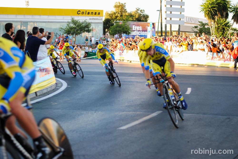 Muy emocionante  (Vuelta a España - Jerez de la Frontera)