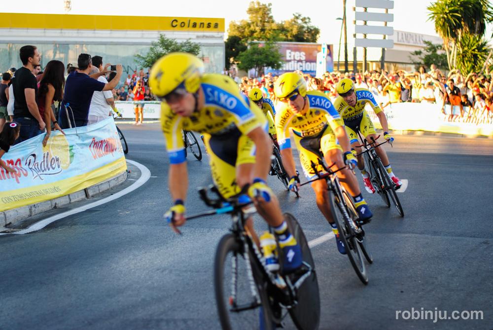 Emocionantísimo... (Vuelta a España - Jerez de la Frontera)