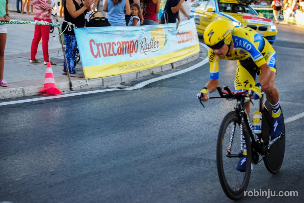 Corre que no llegas  (Vuelta a España - Jerez de la Frontera)