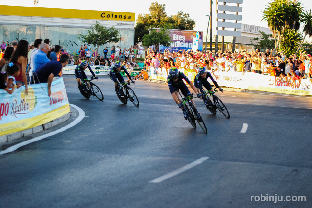 Que llegan los ganadores.. (Vuelta a España - Jerez de la Frontera)