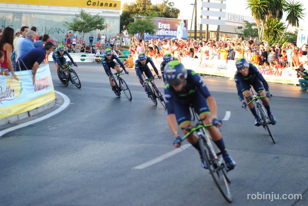 Estos vienen rápido  (Vuelta a España - Jerez de la Frontera)