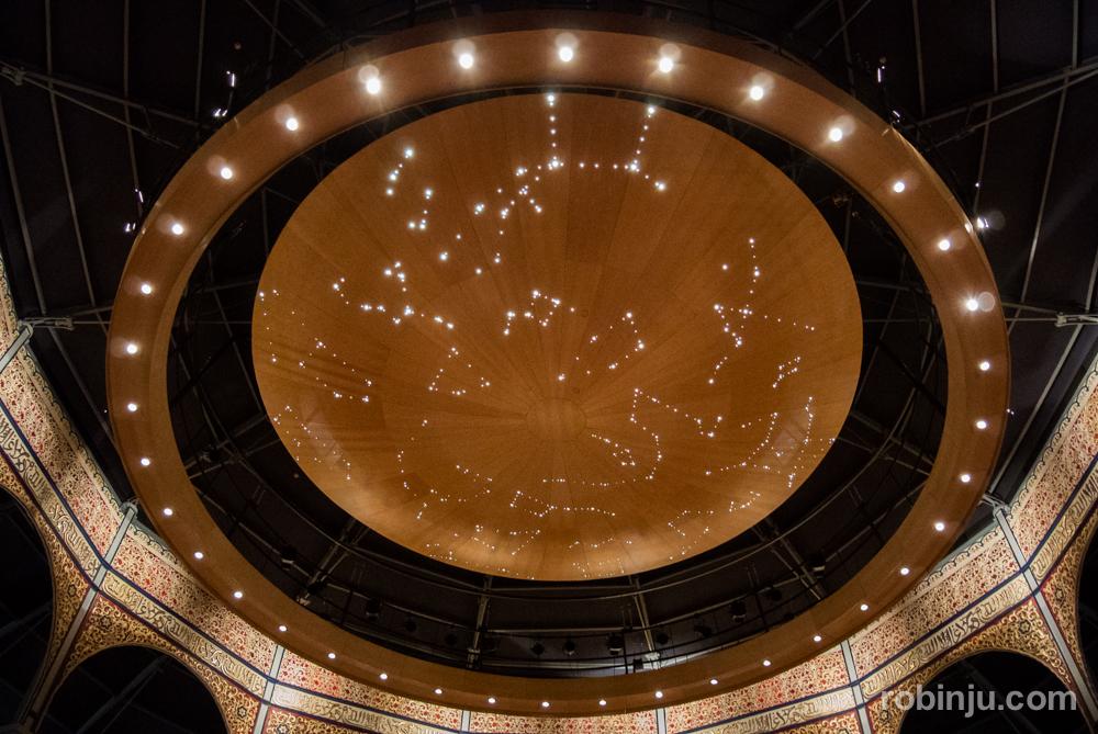 La cúpula. Teatro Circo de Albacete.